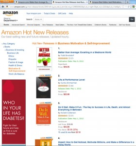 Better than Average Book #1 on Amazon.com